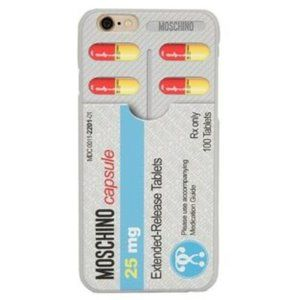 SS17 Pills CASE FOR iPhone 6 / 6S #JUSTSAYMOSCHINO